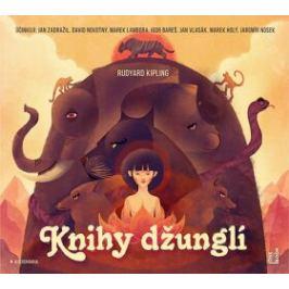 Knihy džunglí - Rudyard Kipling - audiokniha
