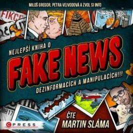 Nejlepší kniha o fake news!!! - Zvol si info - audiokniha