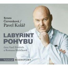 Labyrint pohybu - Pavel Kolář, Renata Červenková - audiokniha