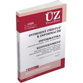 ÚZ 1320 Informace, eGovernment