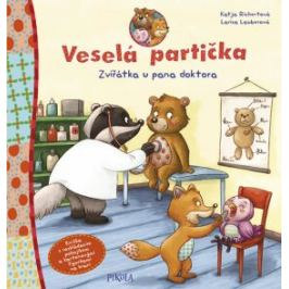 Veselá partička: Zvířátka u pana doktora - Richert Katja