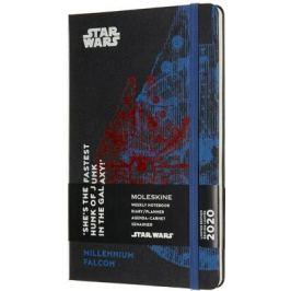 Moleskine: Star Wars plánovací zápisník 2020 L