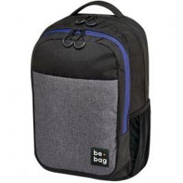Studentský batoh be.bag 1 - Black Grey