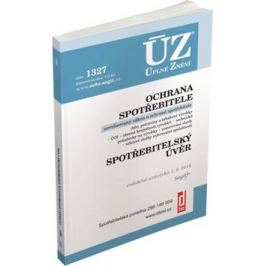 ÚZ 1327 Ochrana spotřebitele, spotřebitelský úvěr, požadavky na výrobky, ČOI