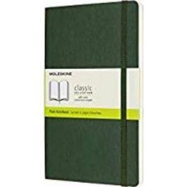 Moleskine - zápisník - čistý, zelený L