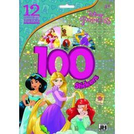 Princezny - 100 samolepek - kolektiv autorů