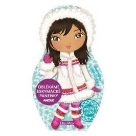 Oblékáme eskymácké panenky Anouk - omalovánky