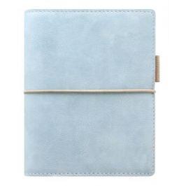 Diář Filofax A7 - Domino Soft, Kapesní, pastelová modrá