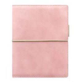 Diář Filofax A7 - Domino Soft, Kapesní, pastelová růžová