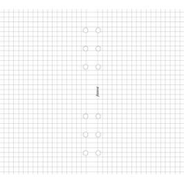 Filofax - Náplň, Osobní, papír čtverečkovaný, bílá