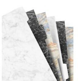 Filofax - Náplň, Osobní, krajové výřezy čisté, 6 záložek, mix barev marble (3 barvy)