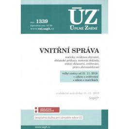 ÚZ 1339 Vnitřní správa