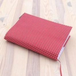 Obal na knihu - Puntíky na červené