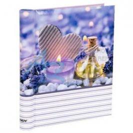 Fotoalbum 60 stran samolepící- Violette srdce
