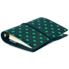 Diář Filofax A7 - Domino, tmavě zelený