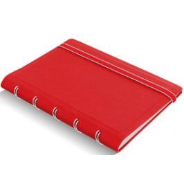 Zápisník Filofax A7 - červený