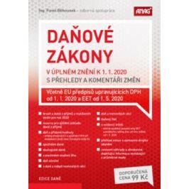 Daňové zákony v úplném znění k 1. 1. 2020 s přehledy a komentáři změn