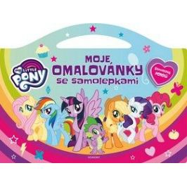 My Little Pony Moje omalovánky se samolepkami
