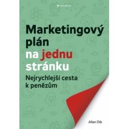 Marketingový plán na jednu stránku - Nejrychlejší cesta k penězům - Allan Dib