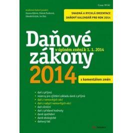 Daňové zákony 2014 - Ivo Šulc; Zdeněk Krůček; Zlatuše Tunkrová
