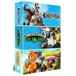 Animáky kolekce II. 3DVD (Ovečka Shaun ve filmu / Khumba / Uuups! Noe zdrhnul)