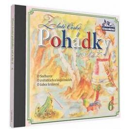 Zlaté české pohádky 6 - audiokniha