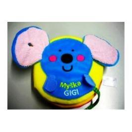 Myška Gigi - látkové leporelko