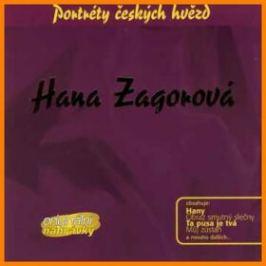 Hana Zagorová - Portréty českých hvězd - CD - Hana Zagorová - audiokniha