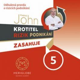Krotitel rizik podnikání zasahuje v prodejně zbraní - CD - Vladimír John