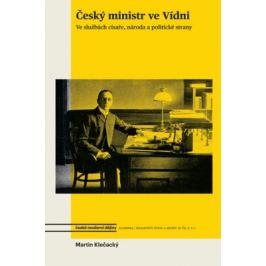 Český ministr ve Vídni - Martin Klečacký