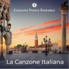 La Canzone Italiana - CD - Casanova Venice Ensemble - audiokniha