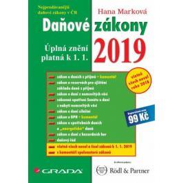 Daňové zákony 2019 - Úplná znění k 1. 1. 2019 - Hana Marková