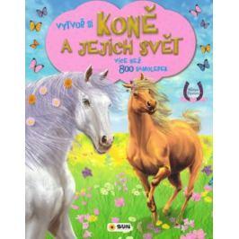Vytvoř si - Koňe a jejich svět - 800 samolepek