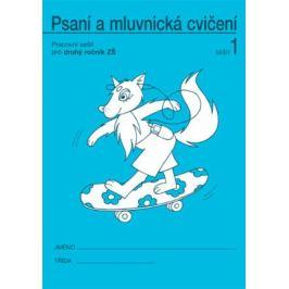 Psaní a mluvnická cvičení 1 pro 2. ročník - Vlasta Švejdová