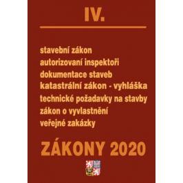 Zákony IV 2020 – Stavební řízení - Úplná znění po novelách k 1. 1. 2020