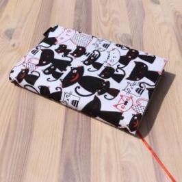 Obal na knihu - Kočky černobílé (UNI-M)