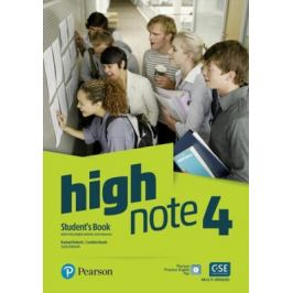 High Note 4 Student´s Book + Basic Pearson Exam Practice (Global Edition) - Rachel Roberts