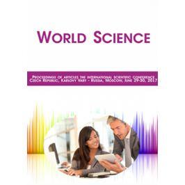 World Science - vědecký sborník - e-kniha