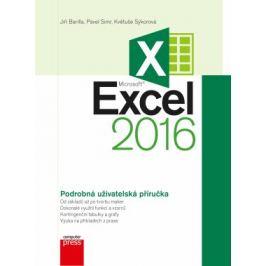 Microsoft Excel 2016 Podrobná uživatelská příručka - Jiří Barilla, Pavel Simr, Květuše Sýkorová - e-kniha