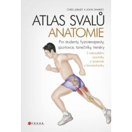 Atlas svalů - anatomie - John Sharkey, Chris Jarmey - e-kniha
