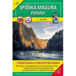 Spišská Magura, Pieniny 1:50 000