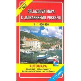 Príjazdová mapa k Jadranskému pobrežiu 1 : 100 000