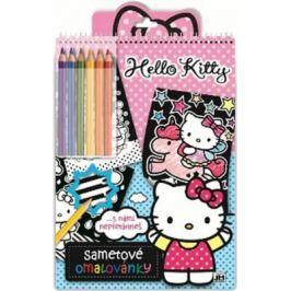 Sametové omalovánky Hello Kitty