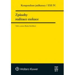 Kompendium judikatury/EXE IV. - Způsoby realizace exekuce - Blanka Havlíčková