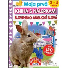 Moja prvá kniha s nálepkami Slovensko-anglické slová