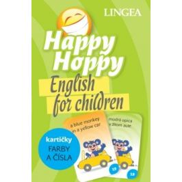 Happy Hoppy kartičky Farby a čísla