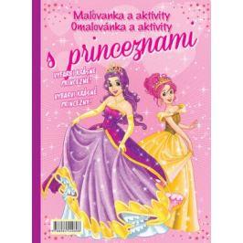 Maľovanka Omalovánka a aktivity s princeznami