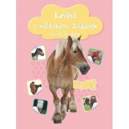 Kniha s nálepkami zvířátek Koně více než 100 nálepek
