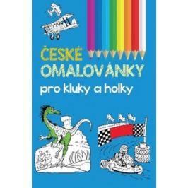 České omalovánky pro kluky a holky