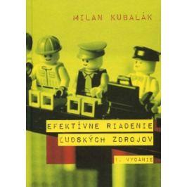 Efektívne riadenie ľudských zdrojov - Milan Kubalák